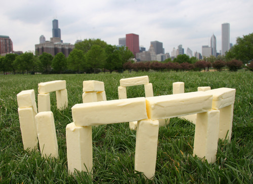 I Can't Believe It's Not Butter Henge
